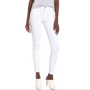 "Frame ""Le Skinny De Jeanne"", White, Size 29"